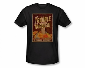 STAR TREK T-SHIRT ORIGINAL SERIES TRIBBLES THE MOVIE