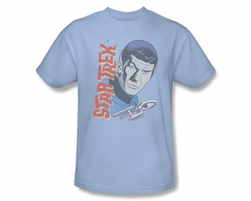 STAR TREK T-SHIRT ORIGINAL SERIES VINTAGE SPOCK