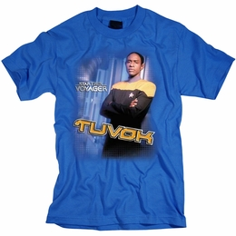STAR TREK T-SHIRT VOYAGER TUVOK