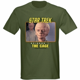STAR TREK THE CAGE ORIGINAL SERIES T-SHIRT