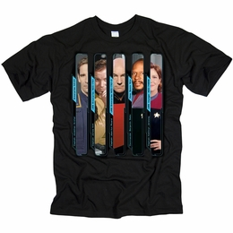 STAR TREK THE CAPTAINS ORIGINAL SERIES T-SHIRT