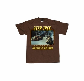 STAR TREK THE DEVIL IN THE DARK ORIGINAL SERIES T-SHIRT