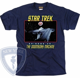 STAR TREK THE DOOMSDAY MACHINE ORIGINAL SERIES T-SHIRT