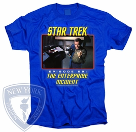 STAR TREK THE ENTERPRISE INCIDENT ORIGINAL SERIES T-SHIRT