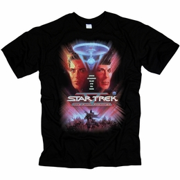 STAR TREK THE FINAL FRONTIER ORIGINAL SERIES T-SHIRT