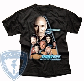 STAR TREK THE NEXT GENERATION ORIGINAL SERIES T-SHIRT