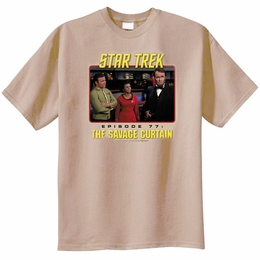 STAR TREK THE SAVAGE CURTAIN ORIGINAL SERIES T-SHIRT