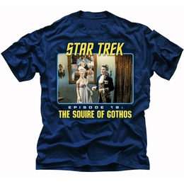 STAR TREK THE SQUIRE OF GOTHOS ORIGINAL SERIES T-SHIRT