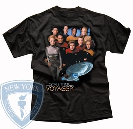 STAR TREK VOYAGER CREW ORIGINAL SERIES T-SHIRT