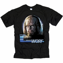 STAR TREK WORF THE NEXT GENERATION T-SHIRT