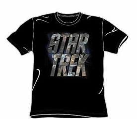 STAR TREK XI MOVIE CHARACTER LOGO T-SHIRT