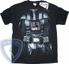 STAR WARS T-SHIRT DARTH VADER COSTUME TEE