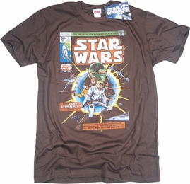 STAR WARS T-SHIRT FABULOUS 1ST ISSUE COMIC BOOK COVER TEE