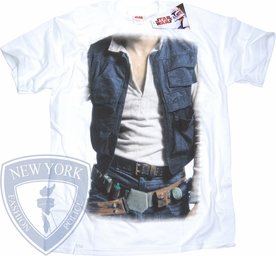STAR WARS T-SHIRT HAN SOLO COSTUME TEE
