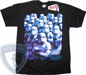 STAR WARS T-SHIRT STORMTROOPER GROUP