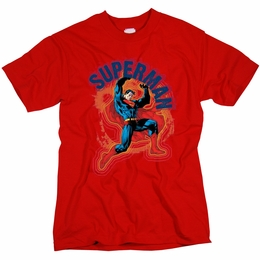SUPERMAN A NAME TO UPHOLD MENS T-SHIRT