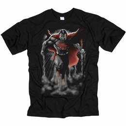 SUPERMAN ABOVE THE CLOUDS MENS T-SHIRT