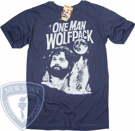 THE HANGOVER T-SHIRT ONE MAN WOLFPACK TEE
