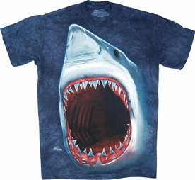 THE MOUNTAIN T-SHIRT AQUATIC FRIENDS SHARK BITE TEE