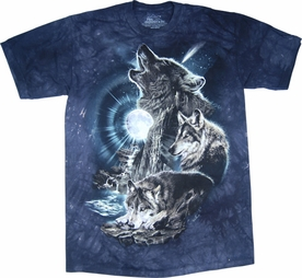 THE MOUNTAIN T-SHIRT BARK AT THE MOON TEE