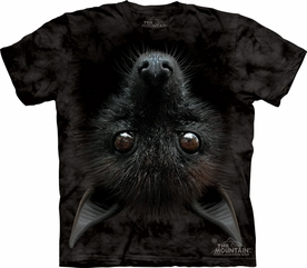 THE MOUNTAIN T-SHIRT BAT HEAD ADULT TEE