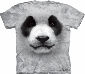 THE MOUNTAIN T-SHIRT BIG PANDA FACE TEE