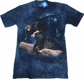 THE MOUNTAIN T-SHIRT BLACK BEAR TRILOGY TEE