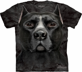 THE MOUNTAIN T-SHIRT BLACK PITBULL ADULT TEE