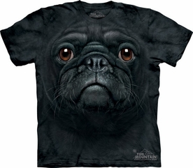 THE MOUNTAIN T-SHIRT BLACK PUG FACE TEE
