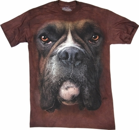 THE MOUNTAIN T-SHIRT BOXER FACE TEE