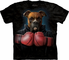 THE MOUNTAIN T-SHIRT BOXER ROCKY TEE
