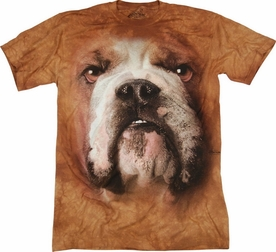 THE MOUNTAIN T-SHIRT BULLDOG FACE TEE