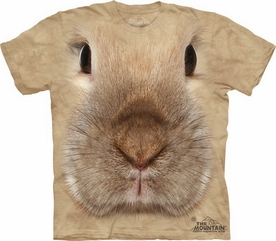 THE MOUNTAIN T-SHIRT BUNNY FACE TEE