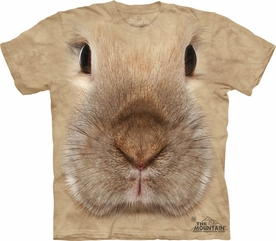 THE MOUNTAIN T-SHIRT BUNNY FACE YOUTH TEE
