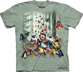 THE MOUNTAIN T-SHIRT BUTTERFLIES TEE