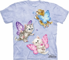 THE MOUNTAIN T-SHIRT BUTTERFLY KITTEN FAIRIES TEE