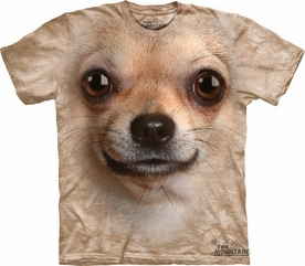 THE MOUNTAIN T-SHIRT CHIHUAHUA FACE TEE