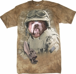 THE MOUNTAIN T-SHIRT COMBAT SAM TEE
