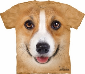 THE MOUNTAIN T-SHIRT CORGI FACE TEE