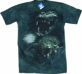 THE MOUNTAIN T-SHIRT DARK GATOR TEE