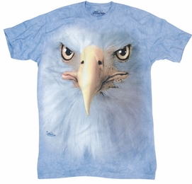 THE MOUNTAIN T-SHIRT EAGLE FACE TEE