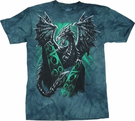 THE MOUNTAIN T-SHIRT ELECTRIC DRAGON TEE