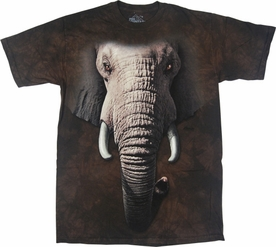 THE MOUNTAIN T-SHIRT ELEPHANT FACE TEE