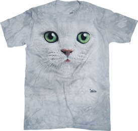 THE MOUNTAIN T-SHIRT EMERALD EYES FACE TEE