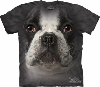 THE MOUNTAIN T-SHIRT FRENCH BULLDOG FACE TEE