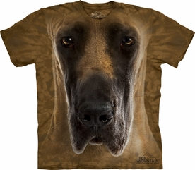 THE MOUNTAIN T-SHIRT GREAT DANE FACE TEE