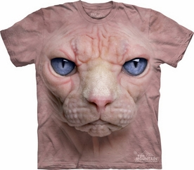 THE MOUNTAIN T-SHIRT HAIRLESS PUSSYCAT TEE