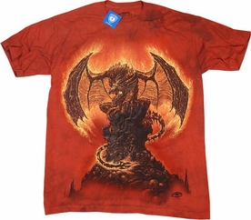 THE MOUNTAIN T-SHIRT HARBINGER OF FIRE TEE