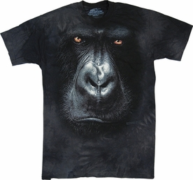 THE MOUNTAIN T-SHIRT IN THE MIST GORILLA FACE TEE