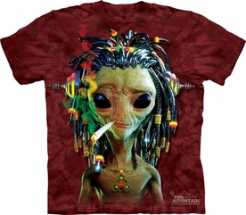 THE MOUNTAIN T-SHIRT JAMMIN ALIEN TEE